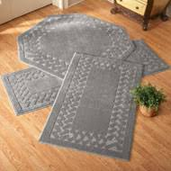 Corner Runner Rug L Shaped Berber Corner Rug Runner From Collections Etc