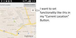 Longitude Position In A Time by Get Current Position In Google Map When Click On Android Button