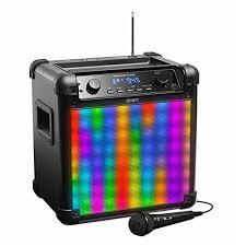 ion bluetooth speaker with lights ion audio ipa88 tailgater flash bluetooth speaker with lights