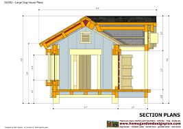 home garden plans dh302 insulated dog house plans construction