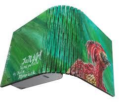 box jewel wood multicolor home decor hand paint harry potter phoenix