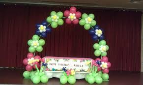 home design balloon decorations in arizona flower arch balloon