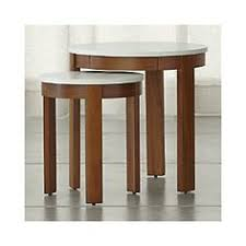 crate and barrel nesting tables my new fave coffee table elke coffee table in coffee tables side