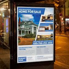 simple real estate a4 flyer psd template indesign psdmarket