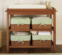 Brown Changing Table Kendall Classic Changing Table Pottery Barn