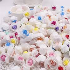 10pcs lot mini pe foam rose flower head artificial rose flowers