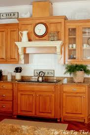 White Backsplash Kitchen by Painting A Kitchen Backsplash Duke Manor Farm