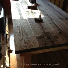 easy diy farmhouse table our diy farmhouse table reveal