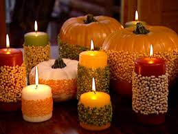 Home Decor Candles Festive Fall Tablescape Hgtv