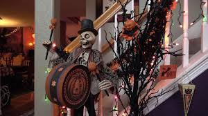 halloween 2017 open house home tour with spooky music u0026 dept