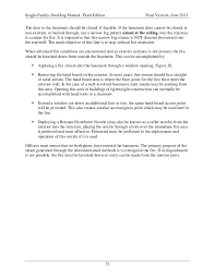 Basements For Dwellings by Single Family Dwellings Manual Nova 06 2013