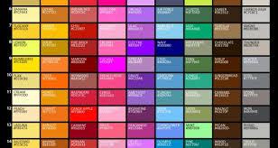 shades of orange names graf1x com posters for artists designers teachers