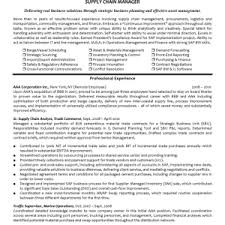 Supply Chain Manager Sample Resume by Cover Letter Logistics Resume Logistics Manager Resume Sample