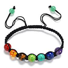 energy bracelet images Healing 7 chakras adjustable rope energy bracelet kismetcollections jpg