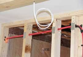 how to successfully install shower plumbing in exterior walls