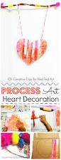 Wall Decoration For Preschool by Process Art Heart Wall Hanging Red Ted Art U0027s Blog