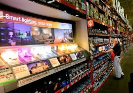 home depot lighting department led lights are taking over households at a meteoric rate but some