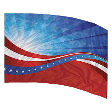 Color Guard Flags In Stock Printed Color Guard Flag Flp136 Band Shoppe