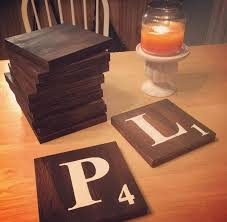 Wood Projects For Xmas Gifts by Best 25 Scrabble Coasters Ideas On Pinterest Scrabble Tile Art