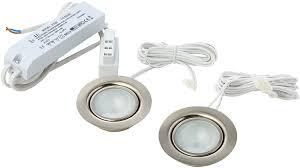low voltage under cabinet lighting kit wattlite low voltage recessed cabinet downlights includes 20w g4