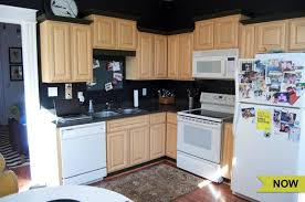 painting kitchen cabinets before after painting kitchen cabinets before and after angie s list