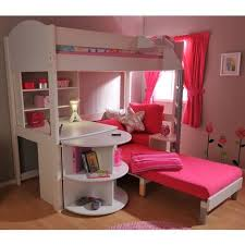 Bunk Bed With Sofa Underneath Pinterest Bunk Bed Ideas With Desk Pink Futon Bunk Bed With Desk