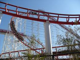 Viper Roller Coaster Six Flags Viper Six Flags Magic Mountain U2022 Captain Coaster