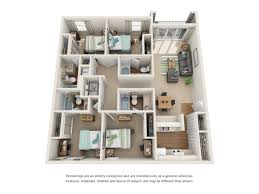 4 bedroom apartments floor plans northgate lakes orlando student apartments near ucf