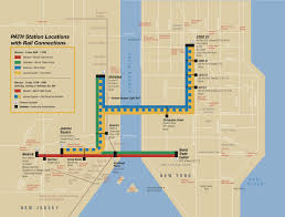 Harlem Map New York by Map Of Nyc Commuter Rail Stations U0026 Lines