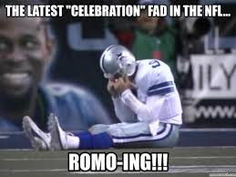 Tony Romo Interception Meme - tebowing shmebowing romoing the new craze fort worth weekly