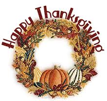 free happy thanksgiving animations clipart graphics