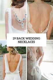 necklace wedding dress images 29 back wedding necklaces the hottest trend right now jpg