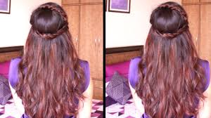 hairstyles for girl video cute head band hairstyle hair tutorial youtube