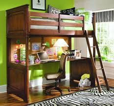 girls loft bed with a desk and vanity it s here bunk bed with desk underneath full interior design master