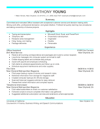 resume for exles sle of professional resume exles template buckey us