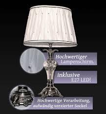 Schlafzimmer Tischlampe Nachttischlampe Led Tischleuchte Schirm Leselampe Weiß
