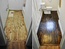 Bathroom Wood Floors - diy budget bathroom renovation reveal beautiful matters