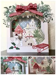 made by sizzix and me cards shadow box pinterest