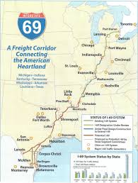 Heartland Community College Map Gtedc Promoting I 69 Through South Arkansas News Southern