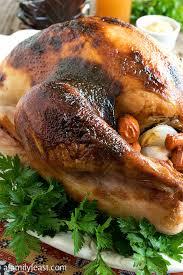 maple cider glazed turkey a family feast