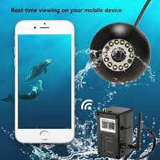portable underwater fishing lights lixada 2 4g portable wifi video fish finder 1000tvl lights