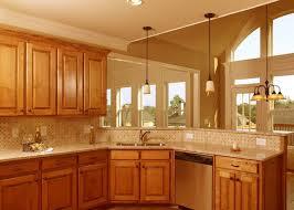 Oak Kitchen Cabinets Ideas Kitchen Corner Kitchen Sink Design Ideas With Oak Cabinets For