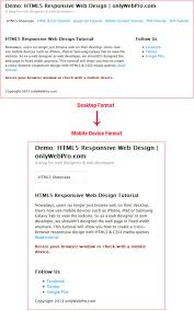 responsive design tutorial design your own responsive web template onlywebpro