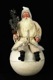 German Christmas Decorations Kathy by Antique Santa Riding Bear Pull Toy By Kathy Patterson Ebay