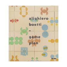 Moma Floor Plan Alighiero Boetti Game Plan Moma