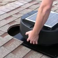 solar attic fan essential for year round savings smarthome