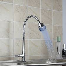 e pak yanksmart modern single cold design led kitchen faucet sink