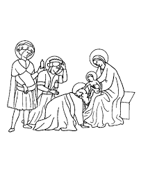 baby jesus christmas coloring pages kids coloring