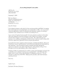 accountant cover letter sample pdf job and resume template