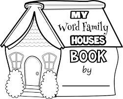 printable word family books printable paper